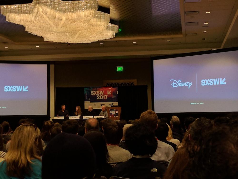 SXSW 2017 Disney panel