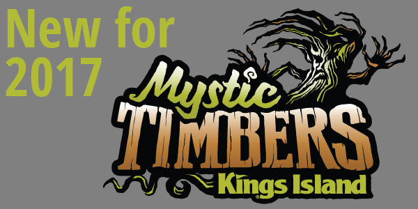 New for 2017: Mystic Timbers at Kings Island