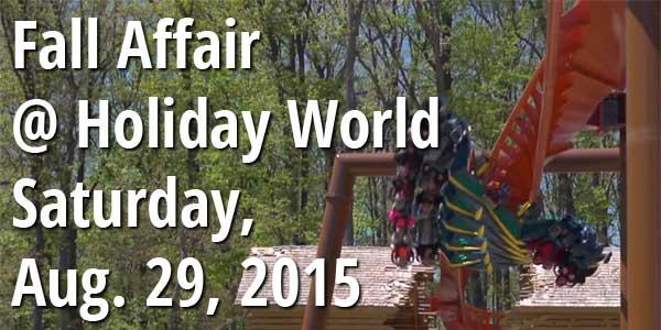 CoasterBuzz Fall Affair at Holiday World