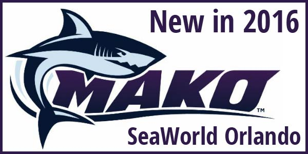 New in 2016: SeaWorld Orlando's Mako