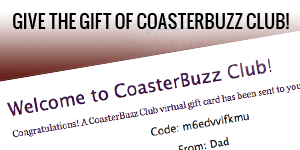 CoasterBuzz gift memberships