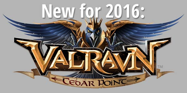 Coming in 2016: Cedar Point's Valravn
